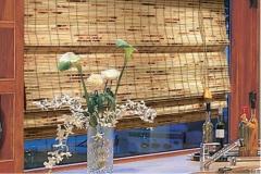 bamboo blind natural
