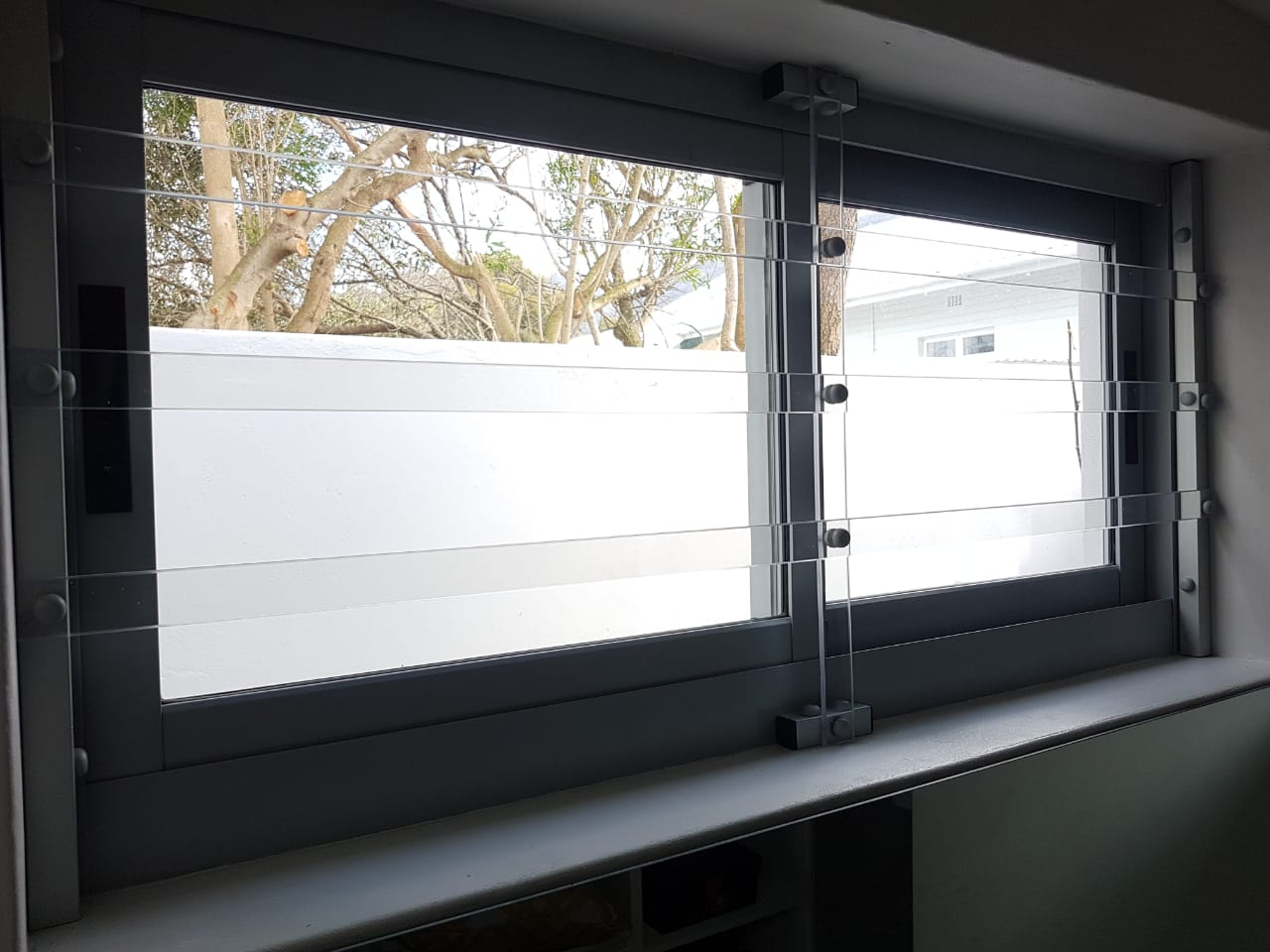 Gallery Clear Plastic Window Blinds Goclear Security Bars