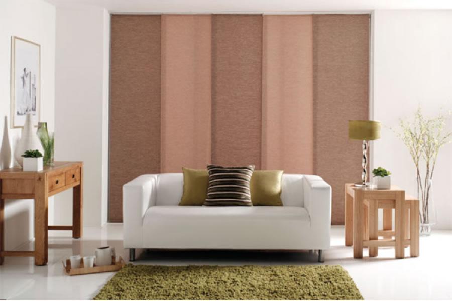 panel blind alternate colours