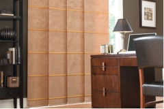 panel blind brown