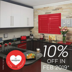 10% off, Kitchen Shutters